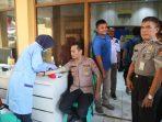 Pemeriksaan Berkala Tahun 2020 Oleh Kapolres Sukabumi Berjalan Aman dan Lancar