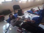 Donor darah Polres Sumedang