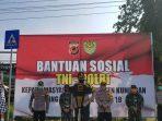 Irwasda Polda Jabar, Kombes Pol Drs. Syahri Gunawan, M.H. Buka Launching Bantuan Sosial TNI-Polri di Kab. Kuningan