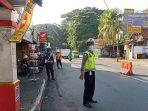 Check Point PSBB Kota Bogor, Polsek Bogor Barat Sasar Pengguna Kendaraan