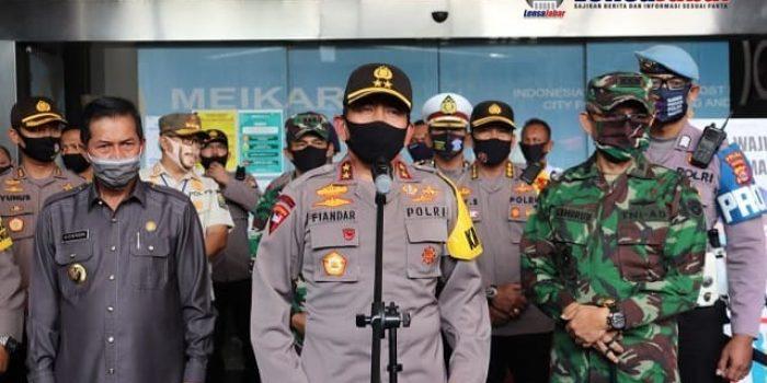 Kapolda Banten, Polda Banten, New Normal