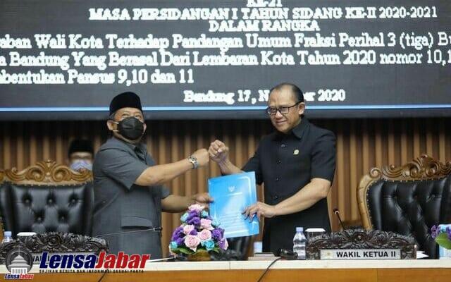 DPRD Kota Bandung menggelar Rapat Paripurna