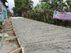 Program Samisade Didesa Sukajaya Kecamatan Tamansari Sedang Dalam Pengerjaan Tahap Pertama